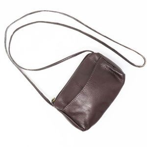 Brown Colombian Genuine Leather Crossbody Bag